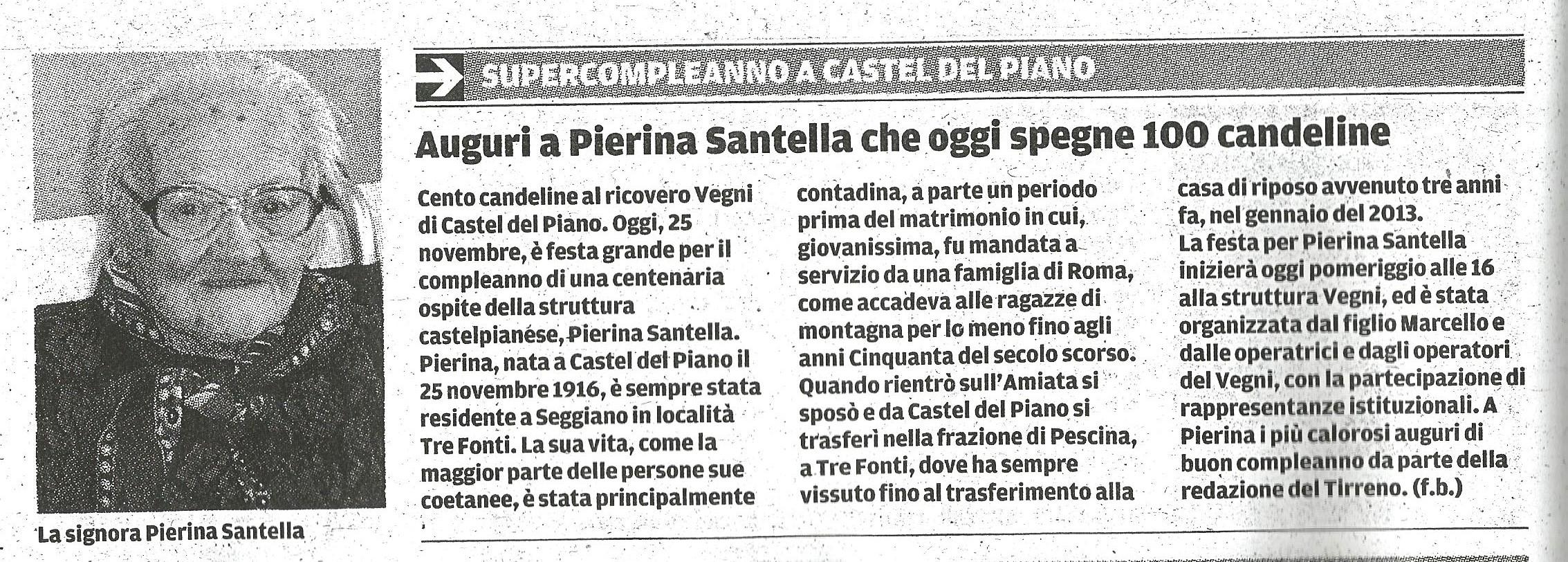 """Articolo del """"Tirreno"""""""